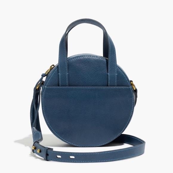 Madewell Handbags - Madewell Juno Leather Crossbody Handbag